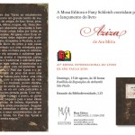 Lançamento da Musa Editora na Bienal do Livro São Paulo 2010 – Domingo, 15 de agosto: Aziza, de Ara Mitta